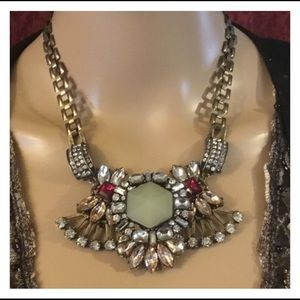 Awesome Chunky 6 Section Statement Necklace